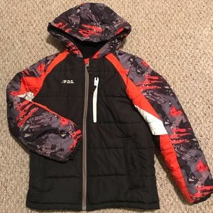 F.O.G. by London Fog Snowboard Puffer Coat size L